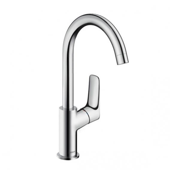 Hansgrohe Logis single lever basin mixer 210 with swivel spout without waste set