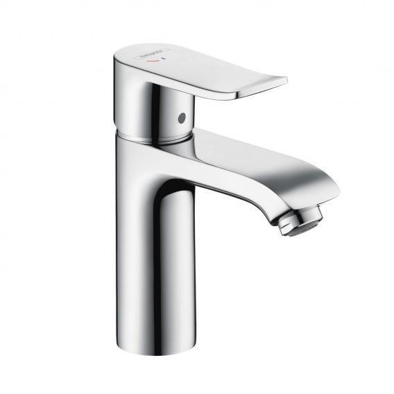Hansgrohe Metris single lever basin mixer 110 CoolStart with pop-up waste set
