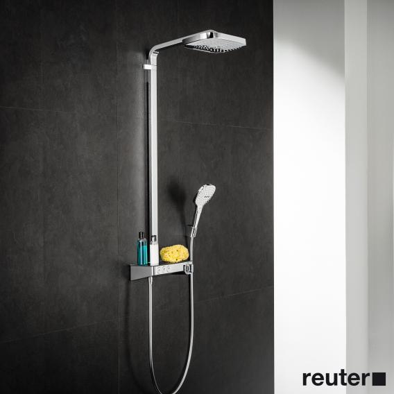 Hansgrohe Raindance Select E 300 3jet ShowerTablet Showerpipe chrome