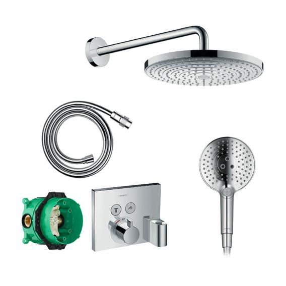 Hansgrohe Raindance Select S & Shower Select, PowderRain shower system