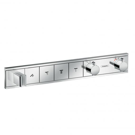 Hansgrohe RainSelect trim set for 4 outlets, concealed chrome