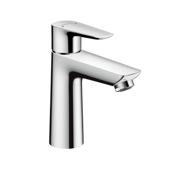 Hansgrohe Talis E single lever basin mixer 110 chrome, with waste set