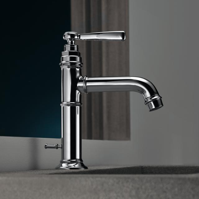 AXOR Montreux single lever basin mixer 100 with pop-up waste set