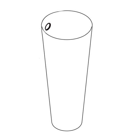 AXOR Starck container for toilet brush set