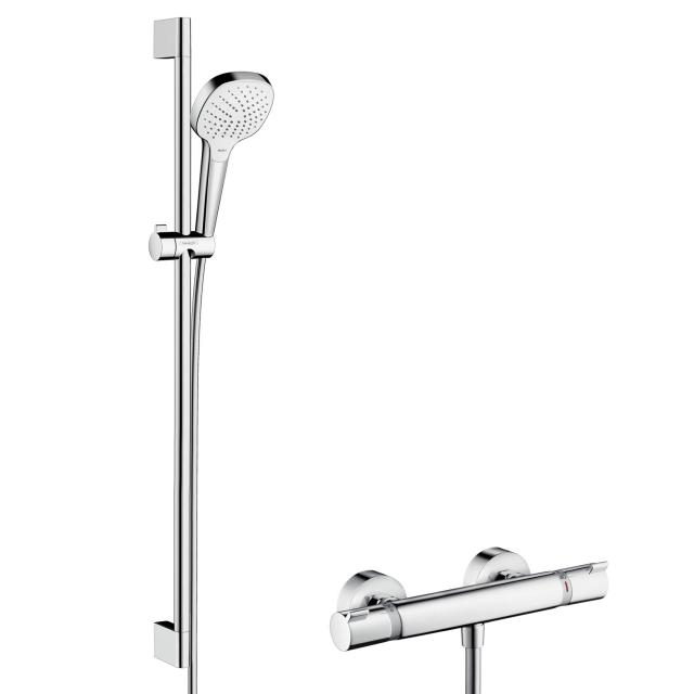Hansgrohe Croma Select E Vario Combi shower set H: 900 mm