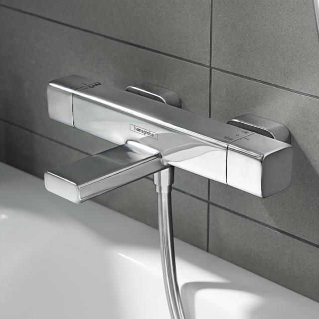 Hansgrohe Ecostat E exposed bath thermostat