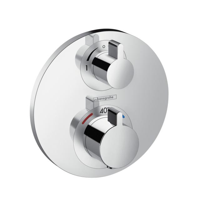 Hansgrohe Ecostat S concealed thermostat, for 2 outlets chrome