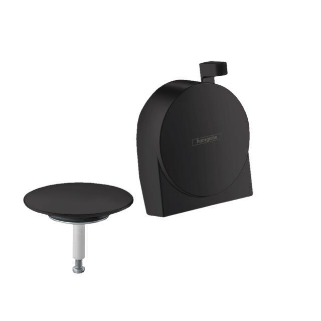 Hansgrohe Exafill S trim set for standard and special baths matt black