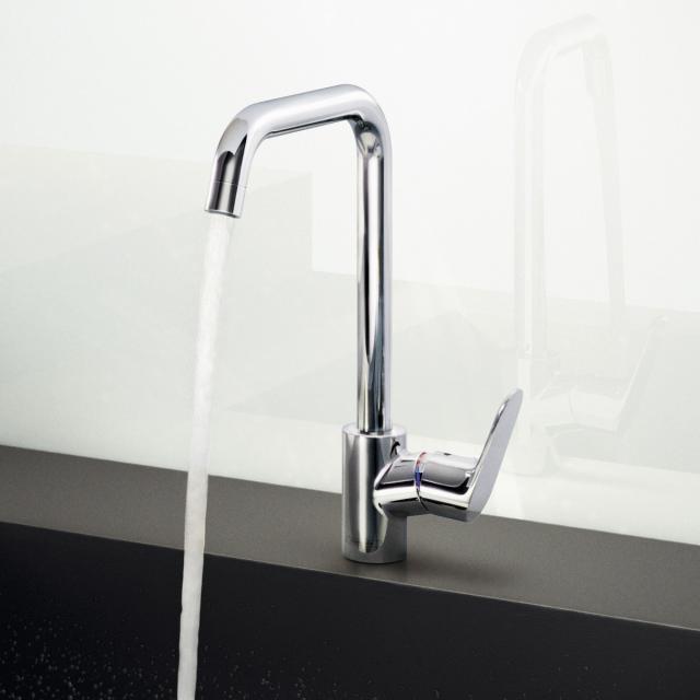Hansgrohe Focus M41 single lever kitchen mixer chrome