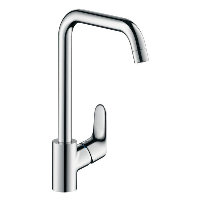 Hansgrohe Focus M41 single lever kitchen mixer for vented hot water cylinders chrome