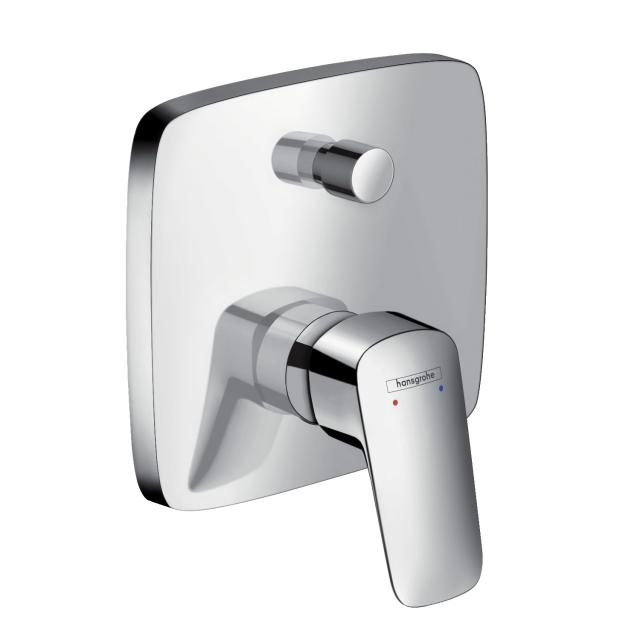 Hansgrohe Logis concealed, single lever bath mixer