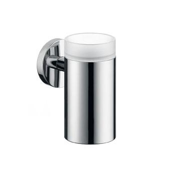 Hansgrohe Logis glass tumbler with holder chrome
