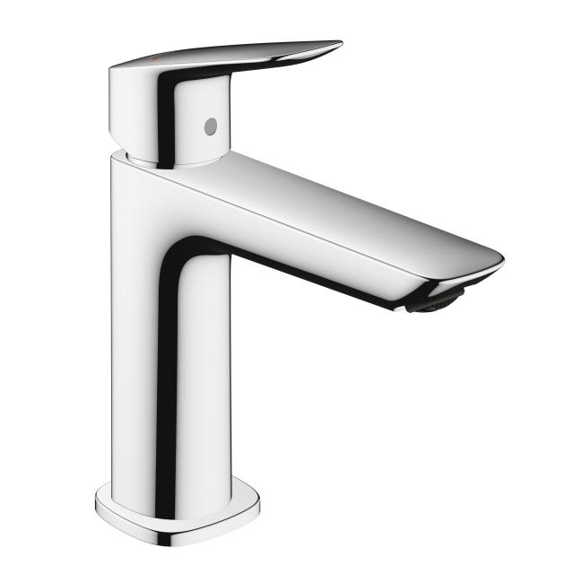 Hansgrohe Logis single lever basin mixer 110 with Push-Open waste set