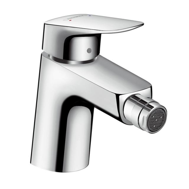 Hansgrohe Logis single lever bidet mixer 70 with pop-up waste set