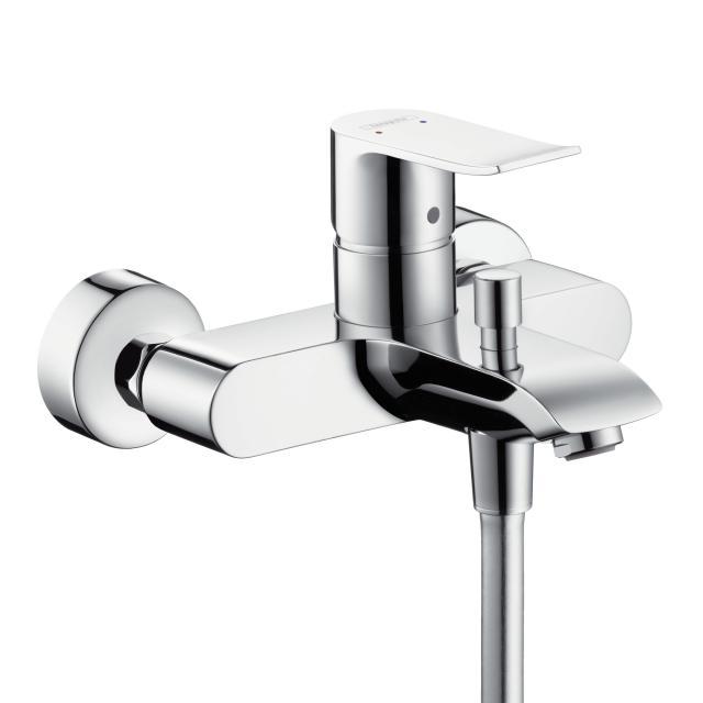 Hansgrohe Metris exposed single lever bath mixer