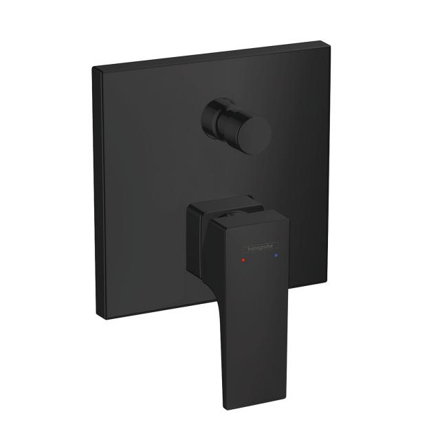 Hansgrohe Metropol concealed single lever bath mixer, with lever handle matt black