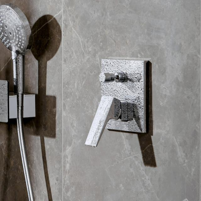 Hansgrohe Metropol concealed single lever bath mixer with safety combination, with lever handle chrome
