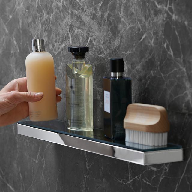 Hansgrohe Rainfinity shelf chrome