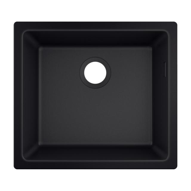 Hansgrohe S51 undermount sink 450 graphite black