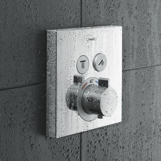 Hansgrohe ShowerSelect Thermostat encastré pour 2 sorties chrome