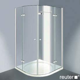 Reuter Kollektion Medium New quadrant with 2 pivot doors chrome/silver high shine STIM 869-884 fixed234