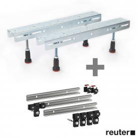 Hoesch 1 pair of foldable legs incl. MEPA set of 3 support rails