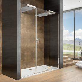 Hoesch CIELA for two shower panel with overhead showers for recess