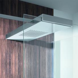 Hoesch CIELA overhead shower for on-site existing glass cabins