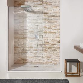Hoesch CIELA shower panel with overhead shower for recess