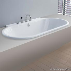 Hoesch FOSTER D-shaped bath white