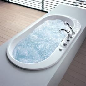 Hoesch FOSTER oval whirlpool with Deluxe Whirl-Air Whirlsystem