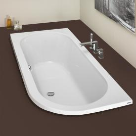 Hoesch HAPPY D corner bath, left version white