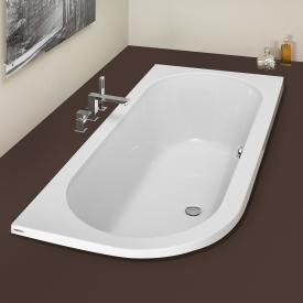 Hoesch HAPPY D corner bath, right version white