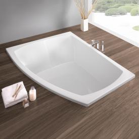 Hoesch LARGO bath, asymmetrical white