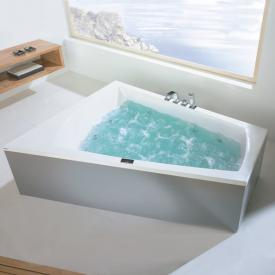 Hoesch LARGO corner whirlpool with Deluxe Whirl-Air Whirlsystem, left