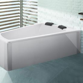Hoesch LARGO trapeze bath, right version