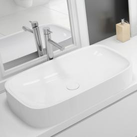 Hoesch LASENIA countertop washbasin white