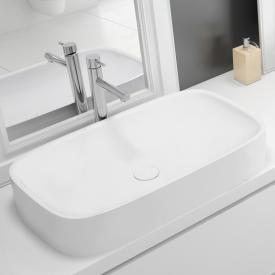 Hoesch LASENIA countertop washbasin matt white