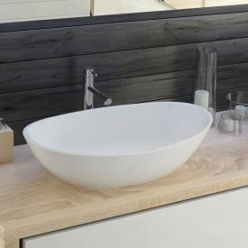 Hoesch NAMUR countertop washbasin matt white