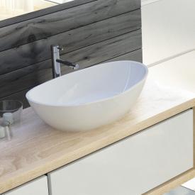 Hoesch NAMUR countertop washbasin white