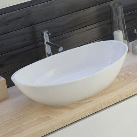 Hoesch NAMUR countertop washbasin white