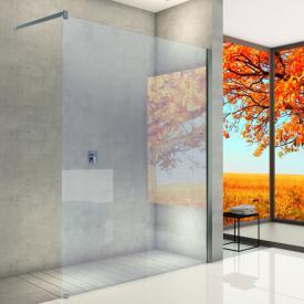 Hoesch ONE&ONE Paroi de douche, version d'angle pour passage latéral
