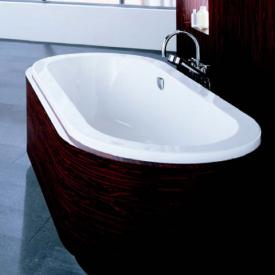 Hoesch SCELTA oval bath, overflow right white