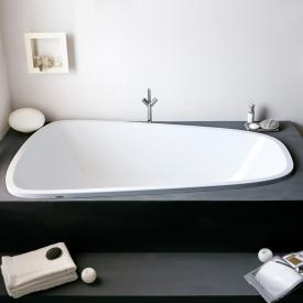 Hoesch SINGLEBATH Duo bath, overflow right white