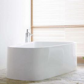 Hoesch SINGLEBATH Duo freestanding bath, overflow left white