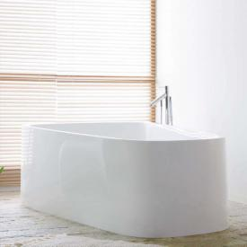 Hoesch SINGLEBATH Duo freestanding bath, overflow right white