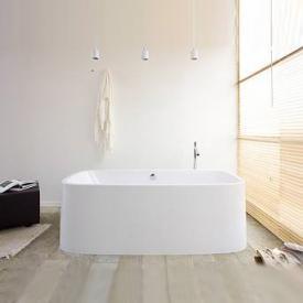 Hoesch SINGLEBATH Uno freestanding bath white