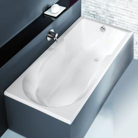 Hoesch SPECTRA rectangular bath with shower zone white