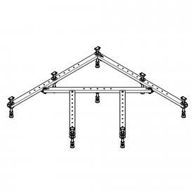 Hoesch Universal base frame for quadrant shower tray W: 100/100 cm