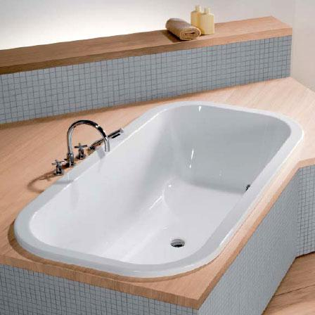 Hoesch ANDREE PUTMAN oval bath white